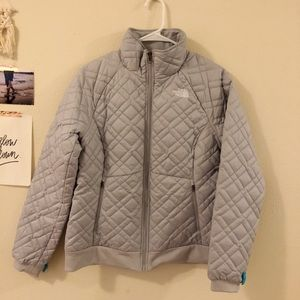 The North Face Grey Puffer